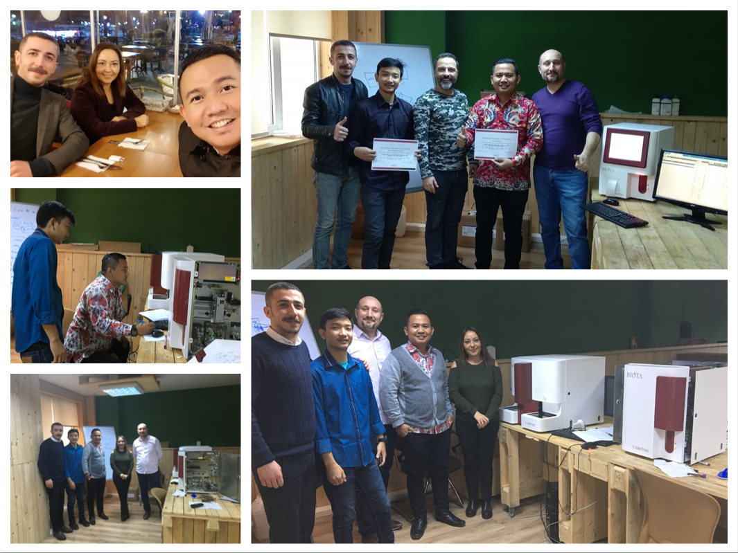 Technical Training of our Indonesian Distributor